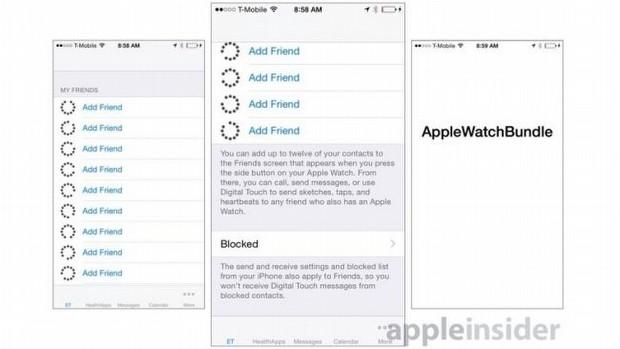 Apple Watch iPhone Uygulaması - Kişiler