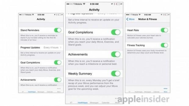 Apple Watch iPhone Uygulaması - Aktiviteler