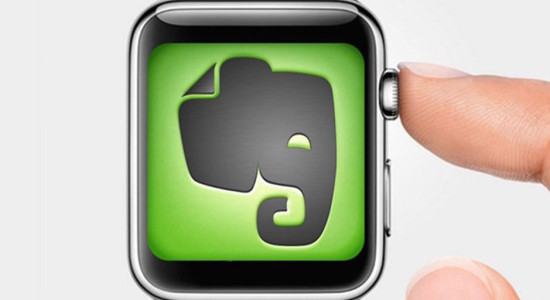 Apple Watch Evernote Uygulaması