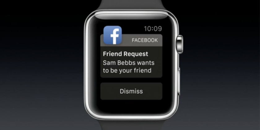 Apple Watch Facebook Uygulaması