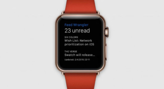 Apple Watch Feed Wrangler