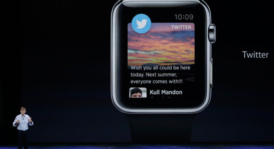 Apple Watch Twitter Uygulaması
