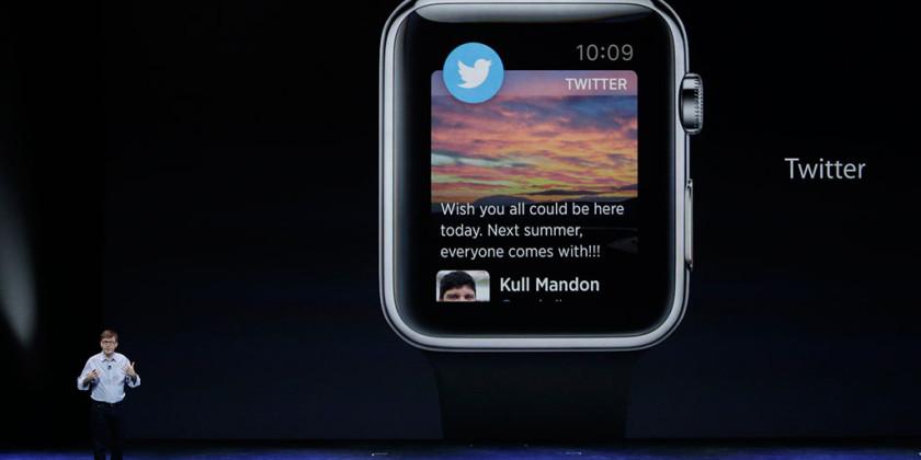 Apple Watch Twitter Uygulaması