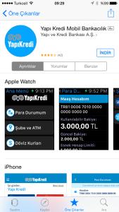Apple Watch YapıKredi