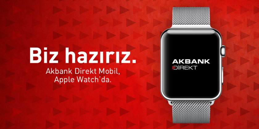 Akbank Direkt Apple Watch