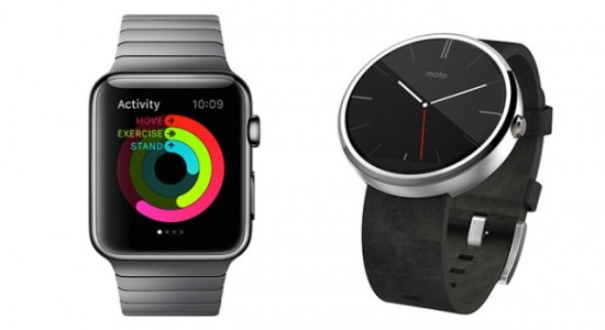 Apple Watch ve Android Wear