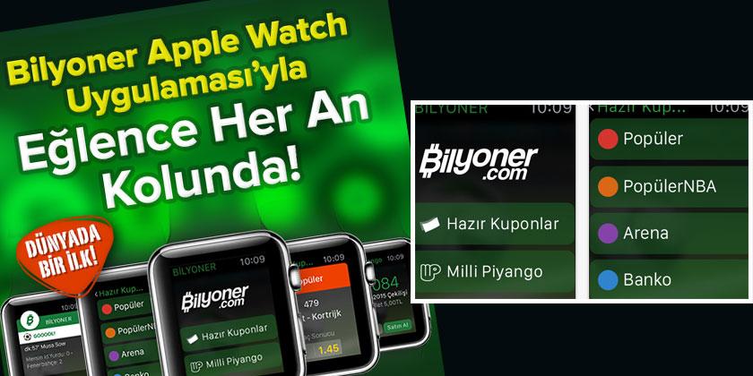 apple watch bilyoner