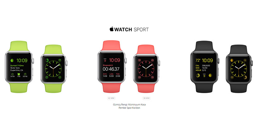 apple watch galeri