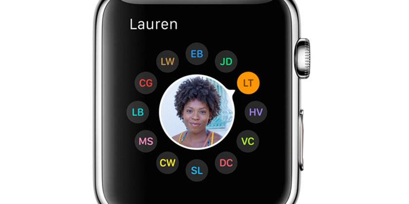 Apple Watch İletişim