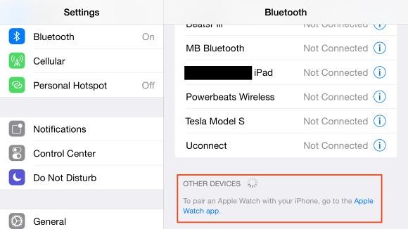 iOS 8.2 Beta4 - Apple Watch Desteği