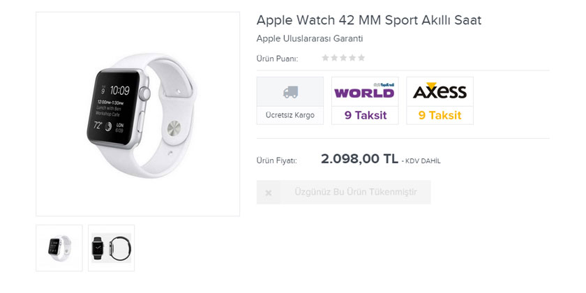 apple watch ptt