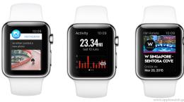 Apple Watch için İlk Uygulamalar