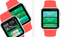 apple watch web tarayicisi