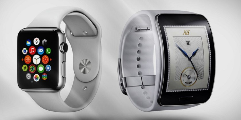 samsung gear ve apple watch